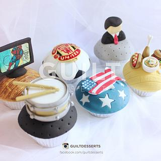 Favorites/Interests Birthday Cupcakes - Cake by Guilt Desserts