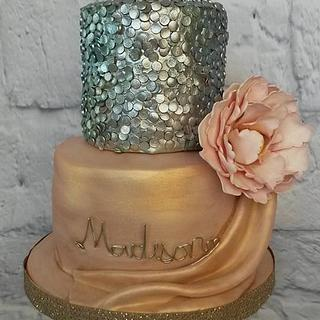 Fashion Inspired 18th Birthday Cake