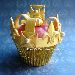 Jubilee cupcake
