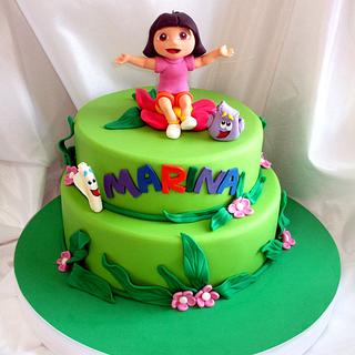 Dora The Explorer Cake for Marina