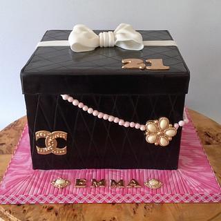 Box cake
