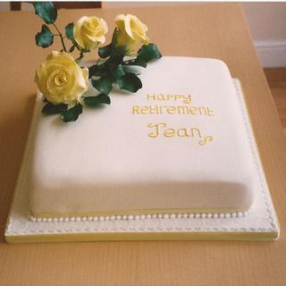 The Yellow Rose Cake