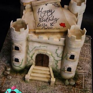 Medieval castle x