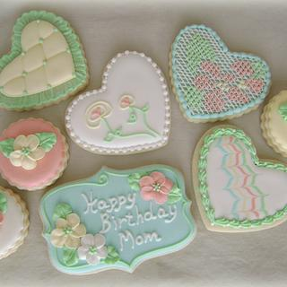 Birthday for Mom Cookie Set