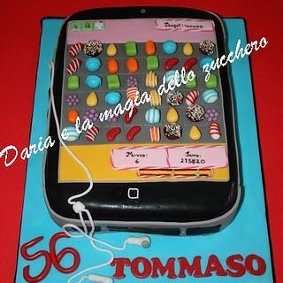 Candy crash IPhone cake - Cake by Daria Albanese