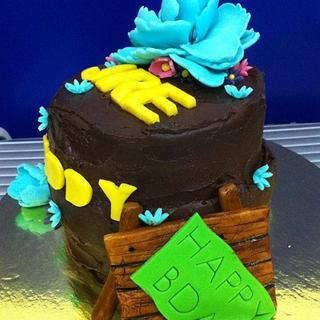 mud cake overload..