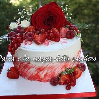 Flowers Red Velvet - Cake by Daria Albanese