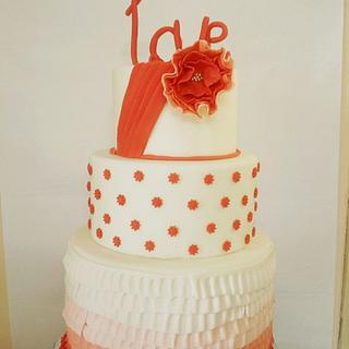 Traditional Wedding - Cake by Surabhi Maheshwari