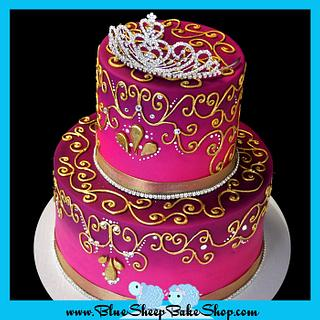 Indian Princess Cake