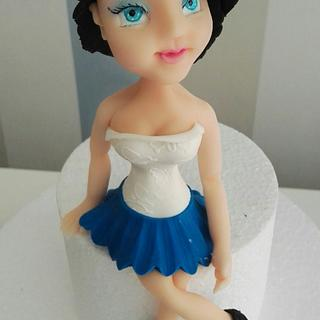 Doll  - Cake by Arletta