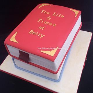 Book cake