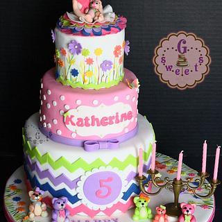 Build-A-Bear Themed Cake