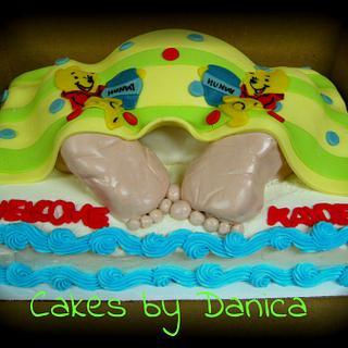 Baby Rump Cake - Cake by Chittenango Cakes