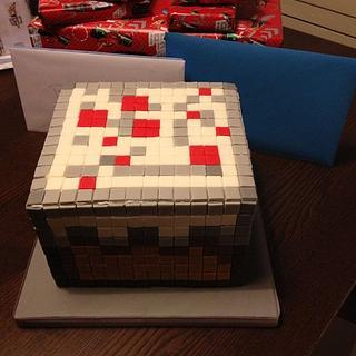 Birthday Minecraft Block