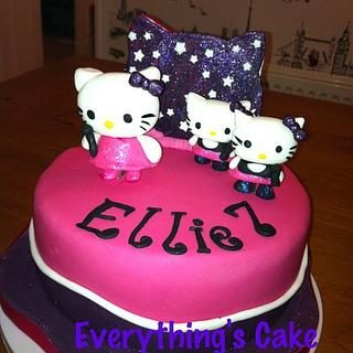Hello Kitty Popstars - Cake by Everything's Cake