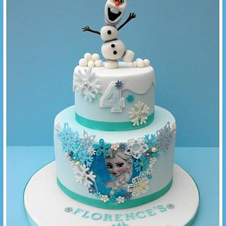 First Frozen Cake!! - Cake by Gill W