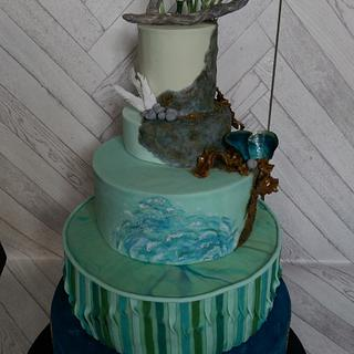 Cliffside Cake - Bronze Award at CI