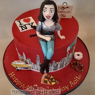 Aoife - NYC Birthday Cake