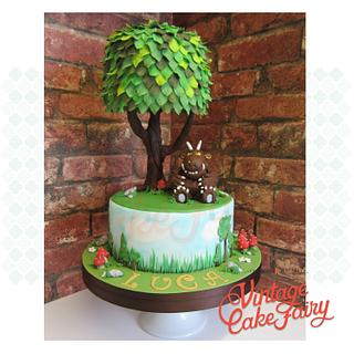 The Gruffalo and tree cake
