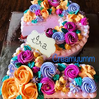 Number 2 cake - Cake by Creamyumm