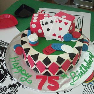 Casino Cake for Dad