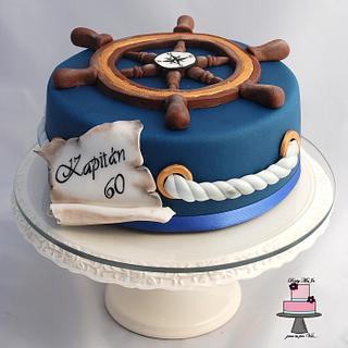 Cake for a sea captain