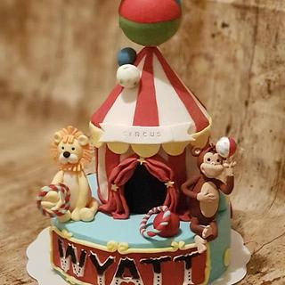 Cirque cake - Cake by MilCake