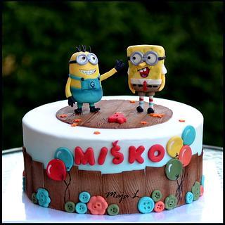 Minion & Spongebob