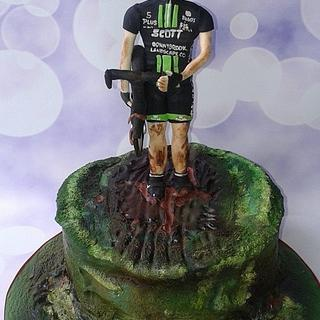 Cyclocross cake