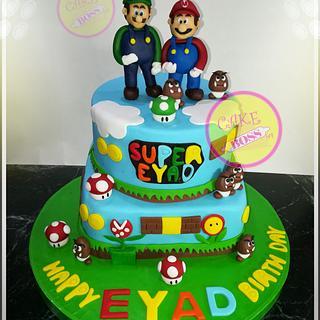 Mario and Luigi cake - Cake by Cake Boss
