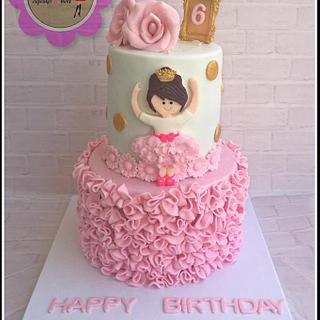 ballerina cake - Cake by NS Sweet
