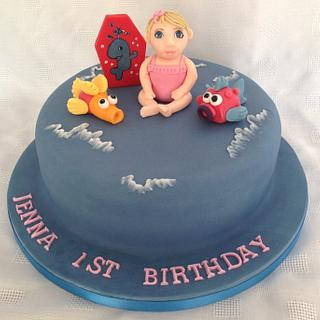 Water Babies cake - Cake by Lesley Southam