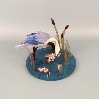 Blue Heron (Showpiece)
