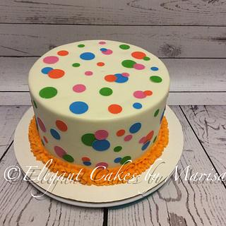 RAINBOW CAKE - Cake by ECM