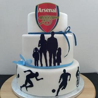 Cake for 40 birthdays