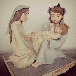 Nativity - Cake by Torte decorate di Stefy by Stefania Sanna