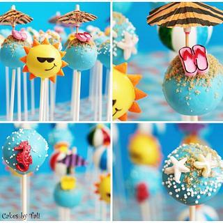 Summer Cake-pops