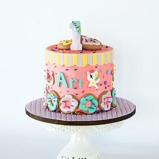 Toki Doki - Cake by Anchored in Cake