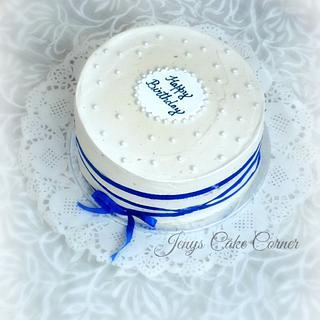 Simple Birthday Cake - Cake by Jeny John