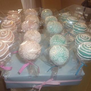 Baby shower cake pops - Cake by Maria Tasevska