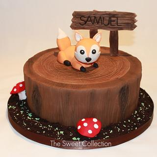 Woodlands Fox cake