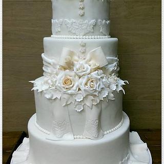 Ivory traditional cake