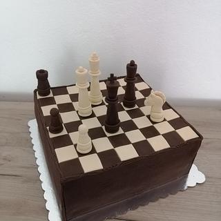 Chess cake - Cake by Jelena Brkljac