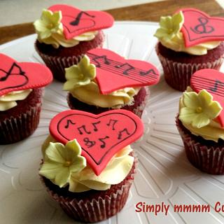 Love & Music! - Cake by Suman