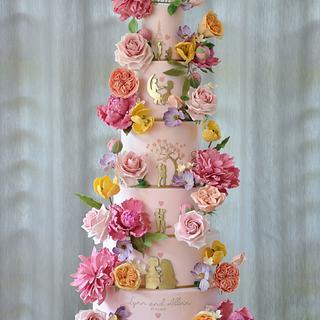 Summer Fairytale - Cake by Sumaiya Omar - The Cake Duchess