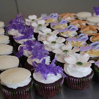 Sophisticated Beach Cupcakes