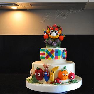 EXPO2015 cake - Cake by La Raffinata