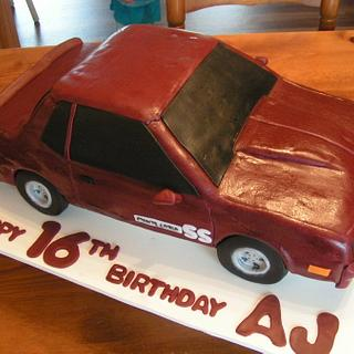 1984 Monte Carlo SS - Cake by Cake Creations by Christy