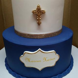 Baptism Cake - Cake by Rosa