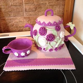 Tea Party - Cake by Bagahu's Buttercream & More